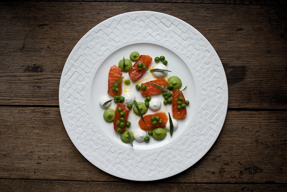 Fine Dining JDH cured salmon Jesmond Dene House Alexandria Dawn Photography