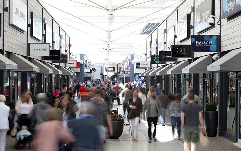 Retail Park secondary Dalton Park shopping high street