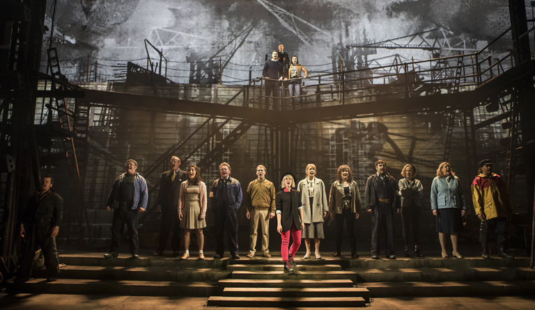 Theatre SECONDARY NORTHERN STAGE HERO The Full Cast of The Last Ship c Pamela Raith