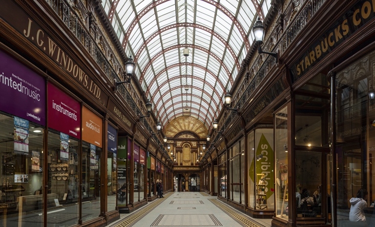 HERITAGE Central Arcade Newcastle City Centre edited 1