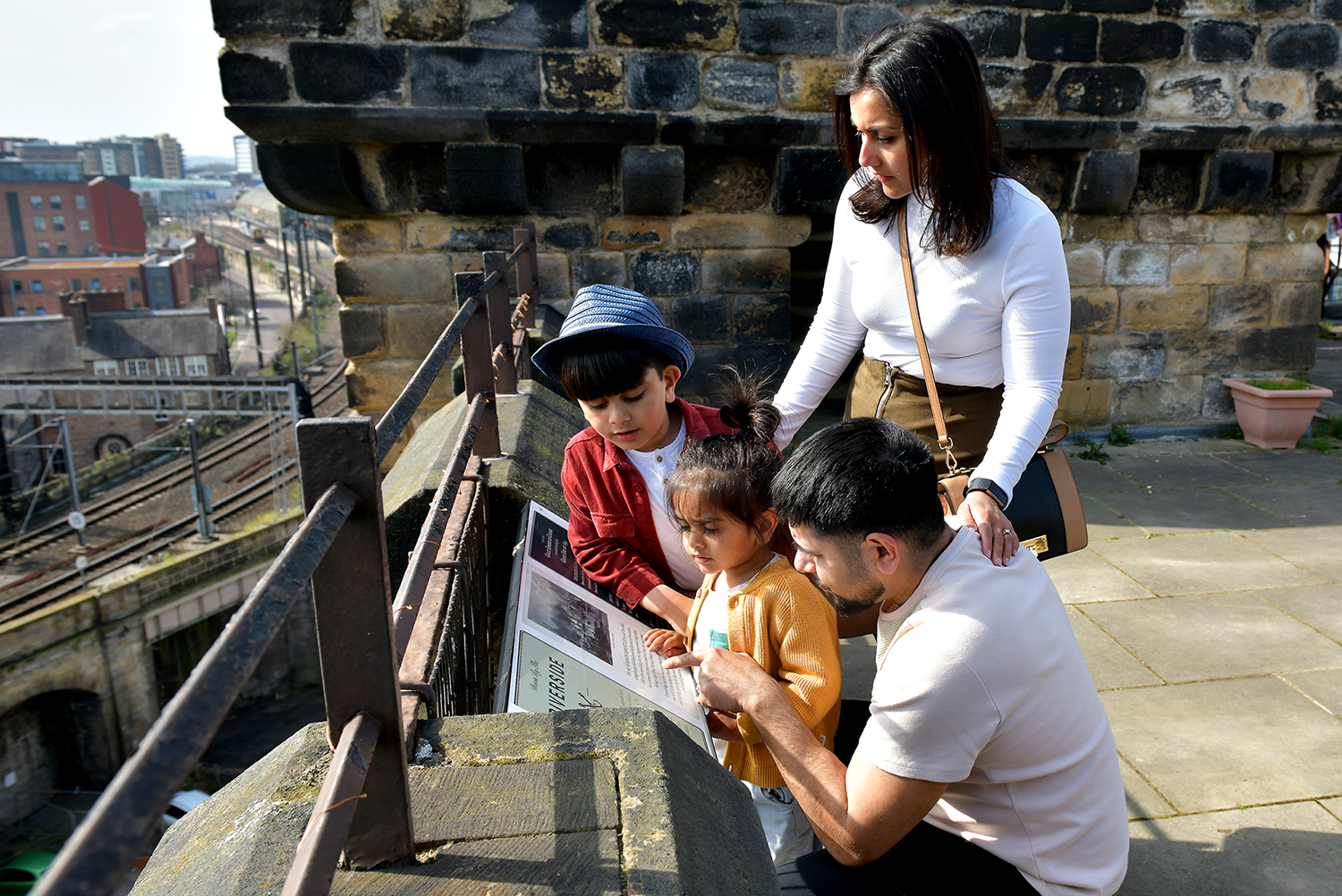 Escape the Everyday Newcastle Castle family
