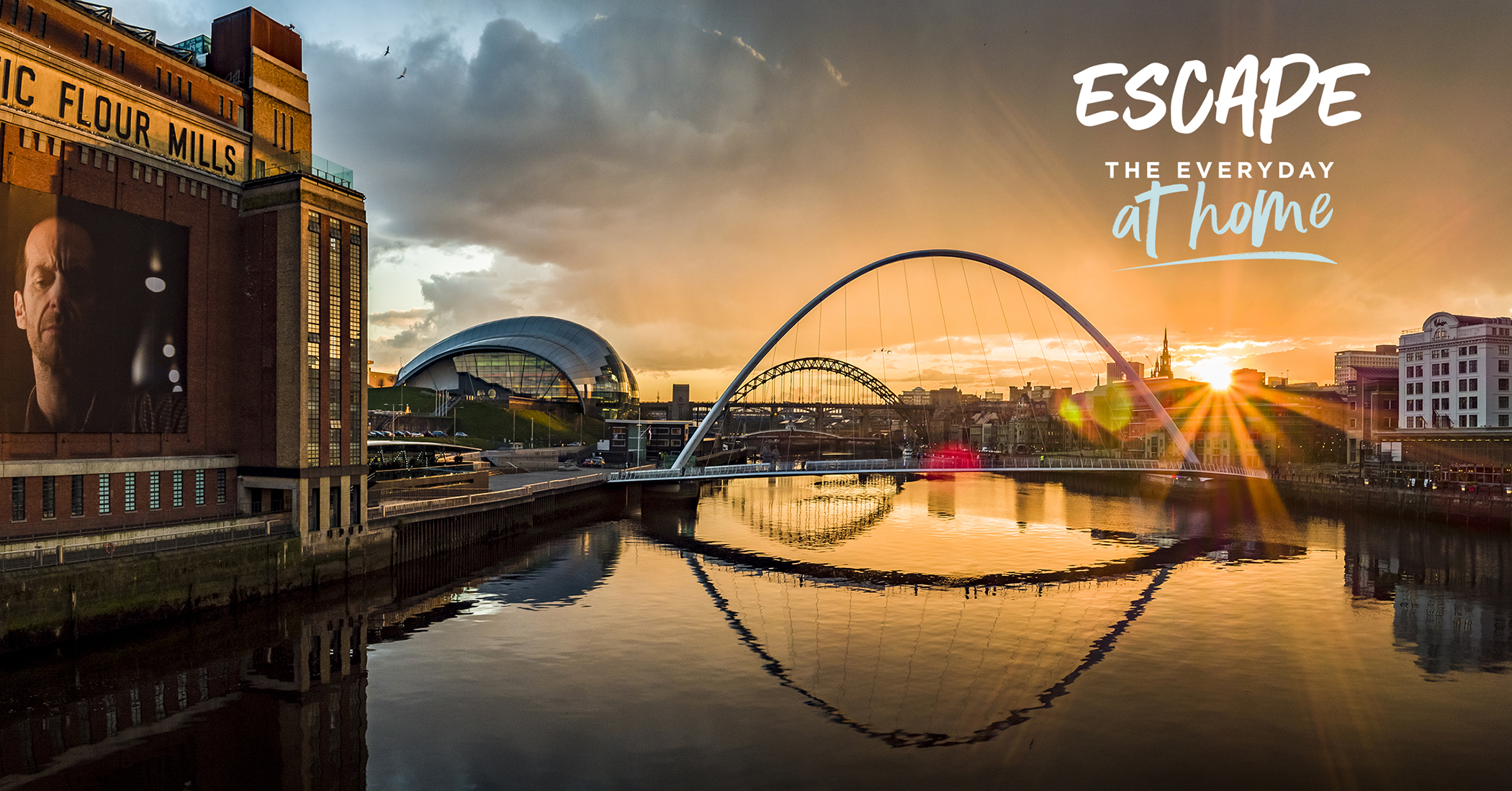 10 ways to Escape the Everyday (at home) in NewcastleGateshead and Northumberland