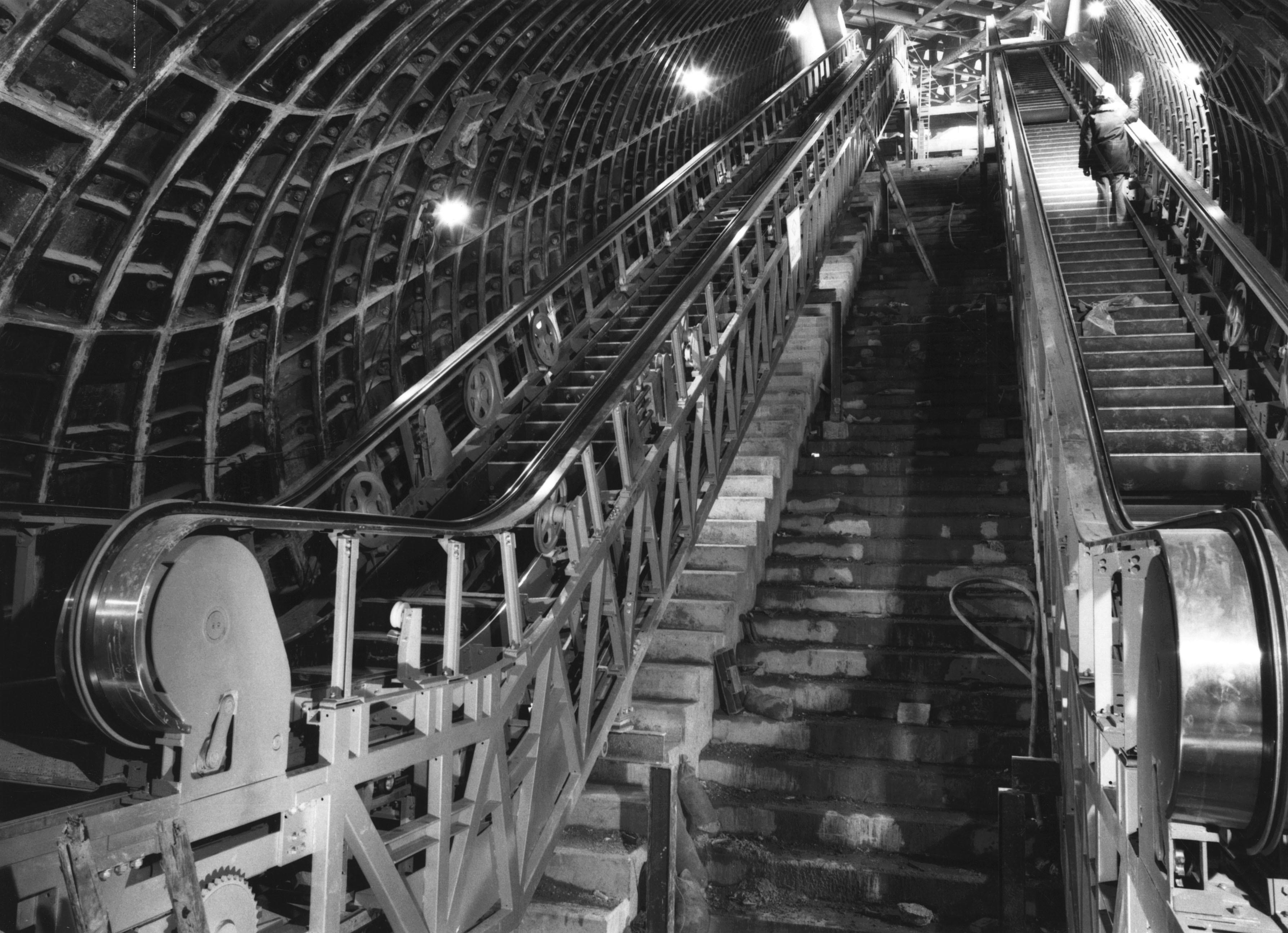 Haymarket Metro Station escalator shaft 8691421213