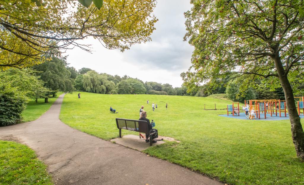Heaton Park Urban Green Newcastle