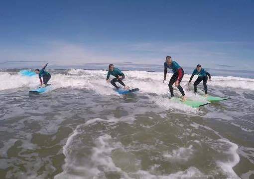 Longsands surf school adulst