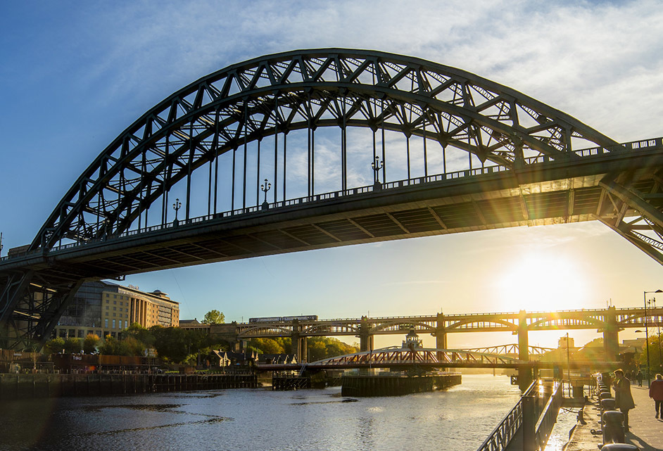 Michelin Guide restaurants newcastle Tyne Bridge C Newcastle Gateshead Initiative