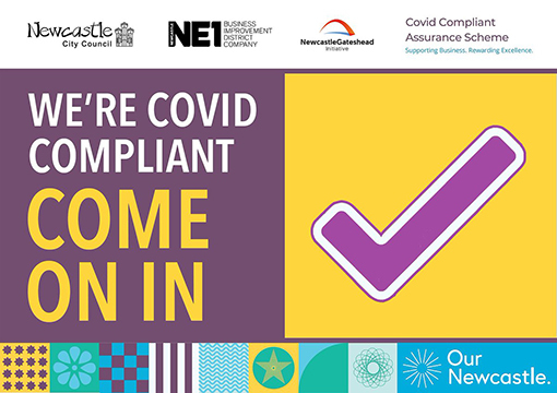 NCC Covid secure website image