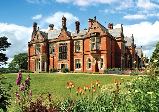 Rockliffe Hall Exterior Old Hallin Summer SECONDARYRESIZEDDC