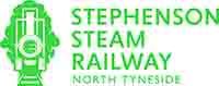Stephenson Steam Railway Logo