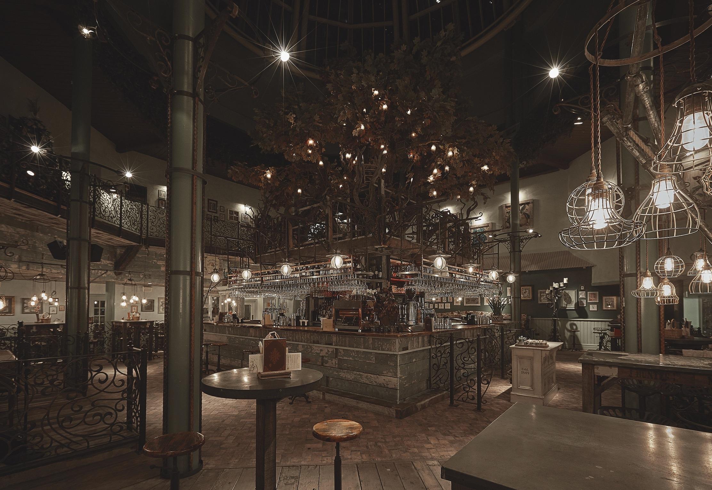 The Botanist Newcastle interior