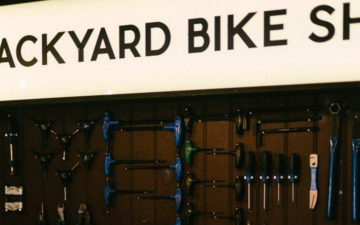 Backyard Bike Shop at By The River Brew Co.