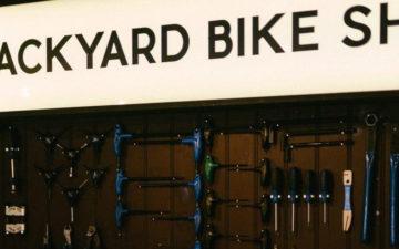 Backyard Bike Shop at By The River Brew Co.