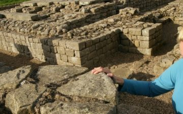 Corbridge Roman Town on Hadrian's Wall