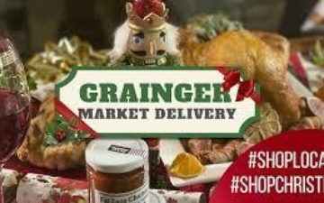 Grainger Market Delivery Christmas Gifts