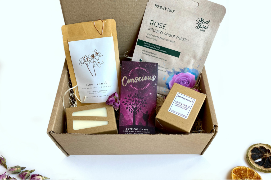 Valentine's pamper box