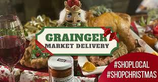 Grainger market christmas 2