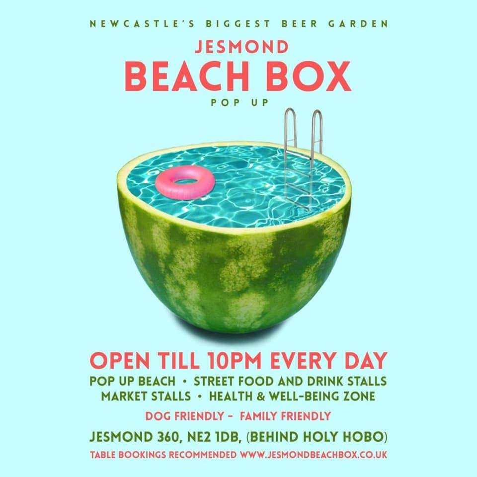 Jesmond Beach Box at The Holy Hobo