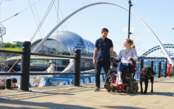 Dog-Friendly Places to Visit on NewcastleGateshead's Quayside