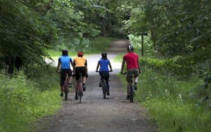 Chopwell Woodland Cycling in Gateshead