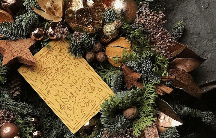 C Hristmas wreath making