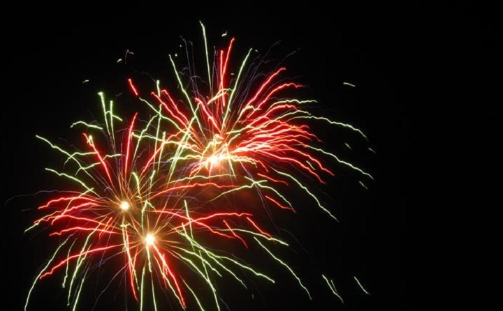 Fireworksand Funfair Racenightat Newcastle Racecourse Resized GIF