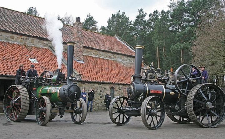 Great North Steam Fairat Beamish Museum Resized GIF