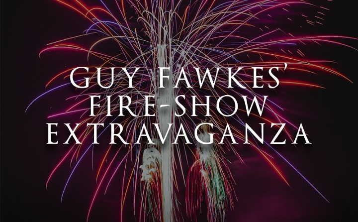 Guy Fawkes Fireworks Extravaganzaat Beamish Hall Resized GIF