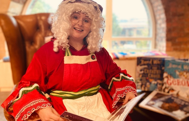 Mrs Claus at Seven Stories