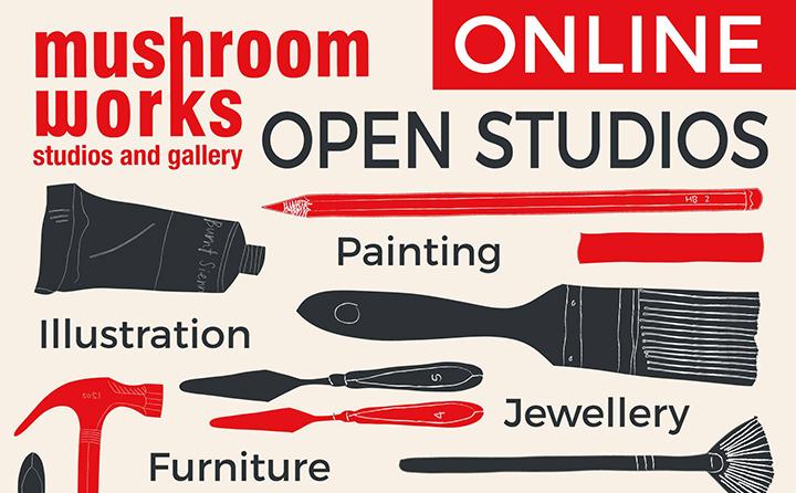 Mushroom Works Newcastle Artist open studio