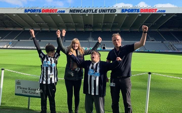Newcastle United Autism Friendly Stadium Tours Resized GIF
