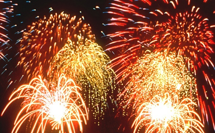 Ouseburn Fireworks Display Resized GIF