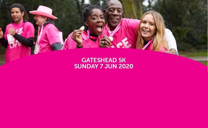Racefor Life Gatesheadat Saltwell Park Resized GIF