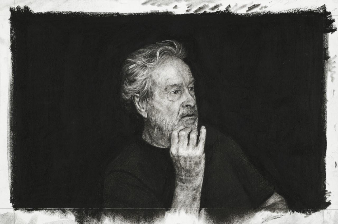 Ridley Scott by Nina Mae Fowler 2019 National Portrait Gallery London