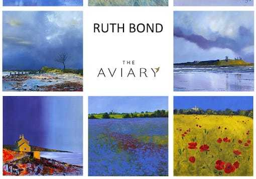 Ruth Bond Exhibition The Aviary Newcastle