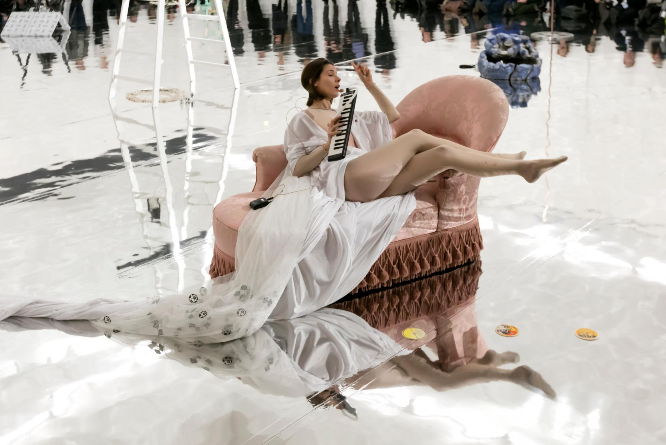 Sophie Jung The Bigger Sleep 2019 courtesy the artist and Kunstmuseum Basel Photo Julian Salinas