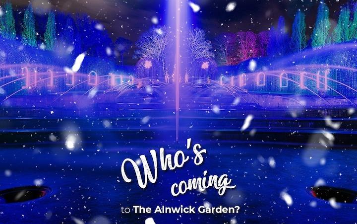 The Alnwick Garden Light Trail