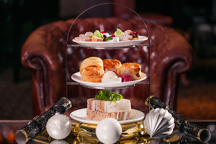 The Vermont Hotel Festive Afternoon Tea Website listing