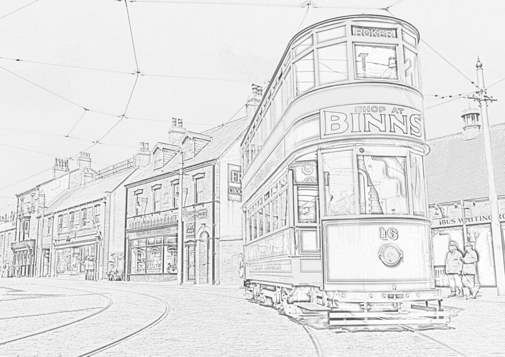 Tram 16 Town street 2 1024x724