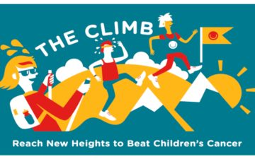 The Climb - Reaching new heights to beat children's cancer!