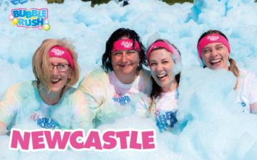 Bubble Rush Newcastle