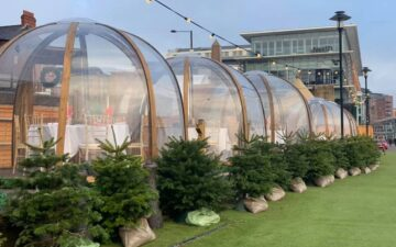 Dine By The Tyne Igloos Newcastle Quayside