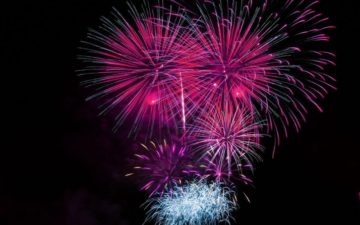 Alnwick Round Table Fireworks 2020
