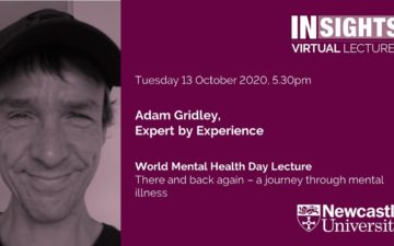 World Mental Health Day Lecture: There and back again – a journey through mental illness