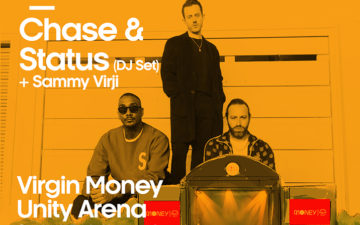 Chase and Status at Virgin Money Unity Arena