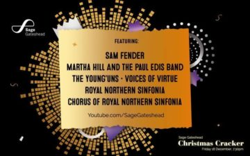 Sage Gateshead Christmas Cracker