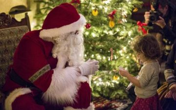 Not Confirmed: Father Christmas at Gibside