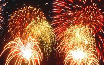 Saltwell Park Fireworks