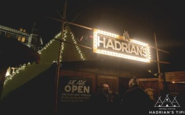 Hadrian's Tipi Newcastle
