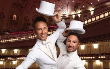 Ian Waite and Vincent Simone  Act Two