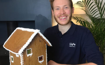 Engineer a Gingerbread House